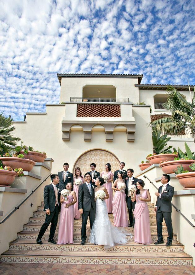 terranea resort wedding in orange country california photo by joy marie studios
