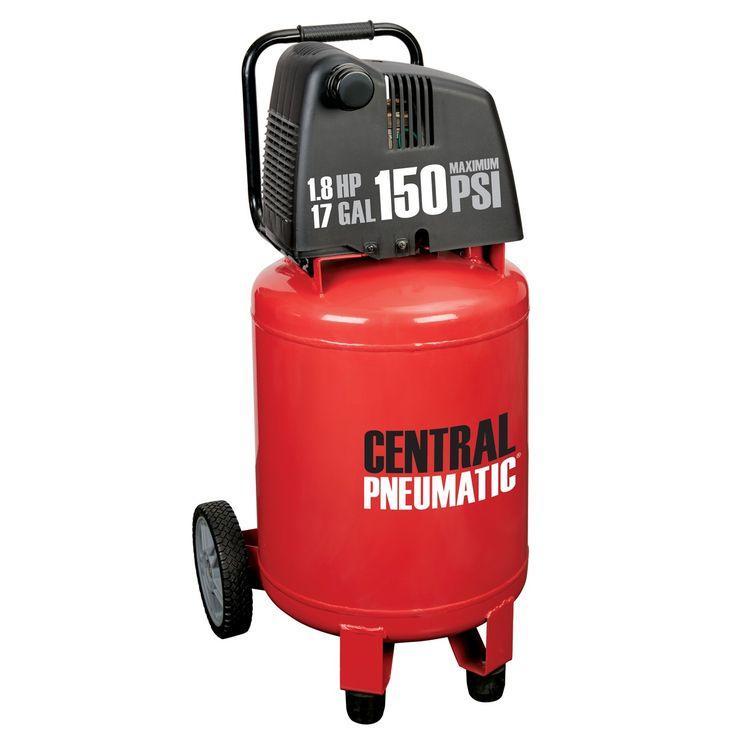 17 gal. 1.8 HP 150 PSI Oilless Air Compressor