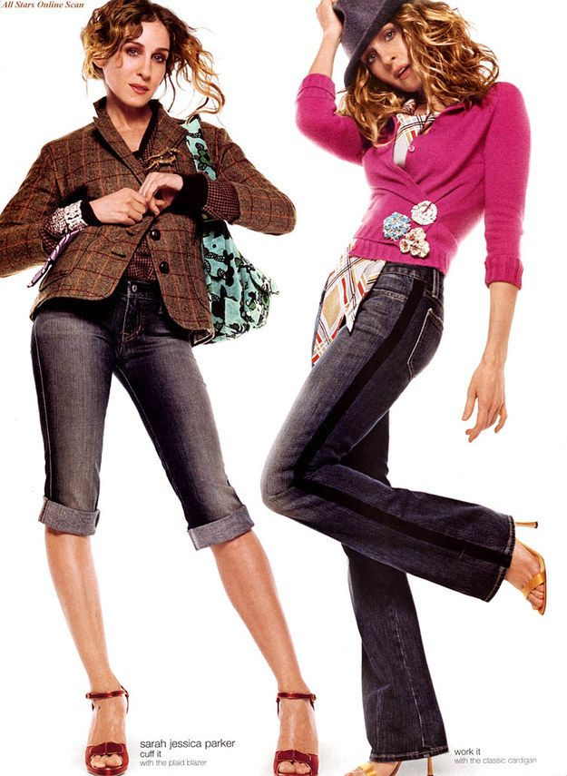 Remember when Sarah Jessica Parker was the face of the Gap? | 25 Celebs You Probably Forgot Modeled For The Gap In The Early 2000s