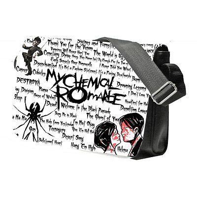 MY CHEMICAL ROMANCE MCR Messenger School College Band Emo Bag
