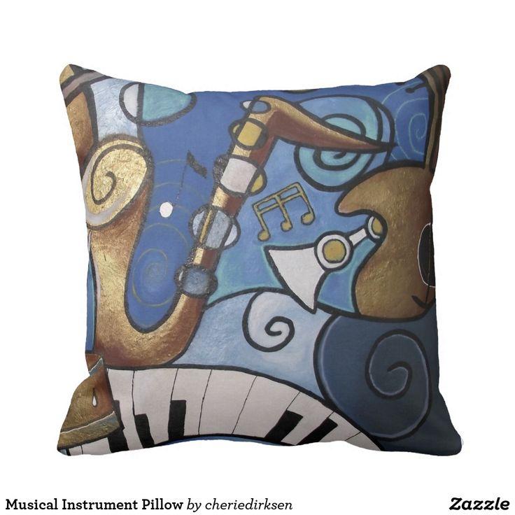 Musical Instrument Pillow --- get 40% off this #BlackFriday2017
