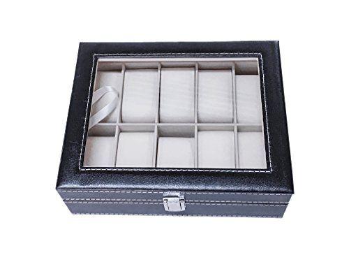 https://zenmerchandiser.com/shop/large-black-leather-watch-box-organizer-case-top-display-glass-10-watch-slots/
