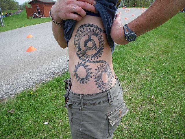 Wanda Berg, Iowa City Ia by Squirrels Cycling Tattoo Collection, via Flickr