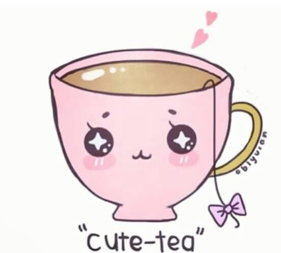 Three Favorite Things Tea Adorableness And A Pun