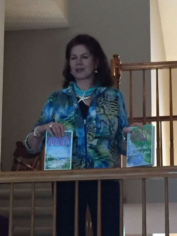 May Day Tea (c) - Mara shares news about her Milford-Haven Novels