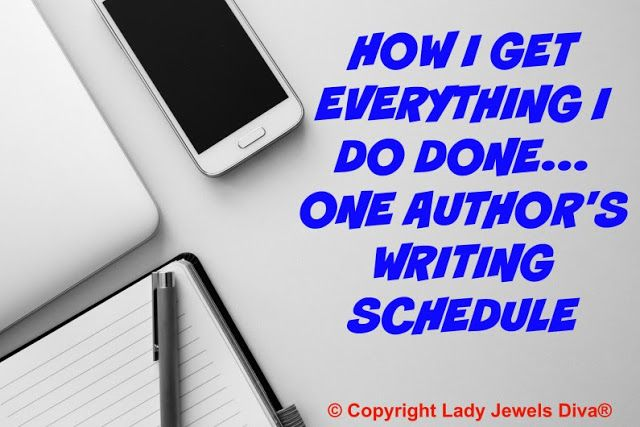 L.J. Diva: One Author's Writing Schedule and How It's All Planned Out. Details on the blog - http://www.jewelsdiva.com.au/2017/05/one-authors-writing-schedule-and-how-its-all-planned-out.html