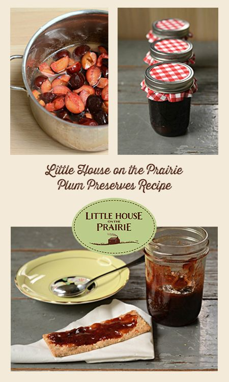 Have you ever tried making your own preserves? Give this plum preserves recipe a try! Put it on toast, crackers or even homemade ice cream!