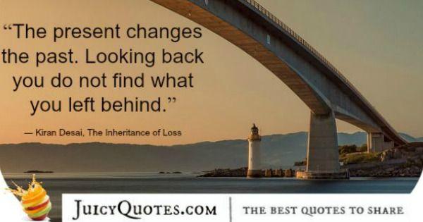 Quote About Change - Kiran Desai