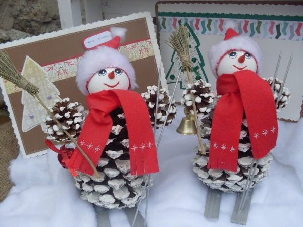 CHRISTMAS CRAFTS from pine conesModern Home Interior Design