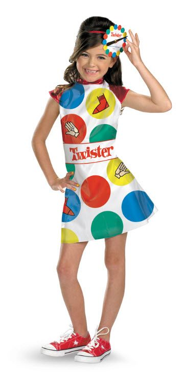 Girl's Twister Costume