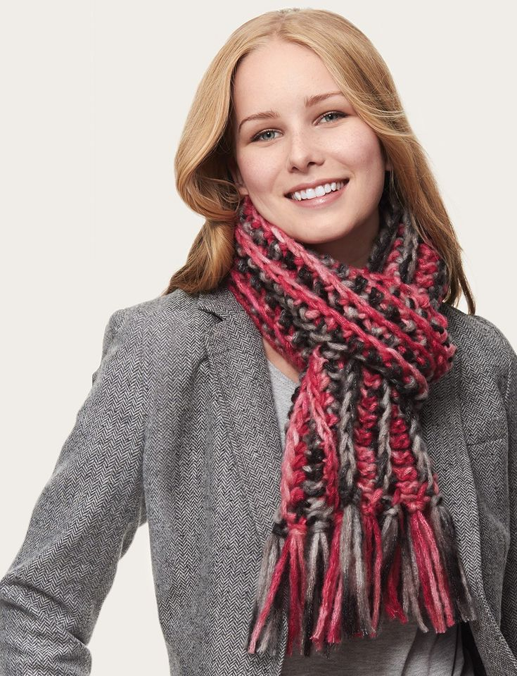 1000+ images about Knitting & Crochet Scarves on Pinterest