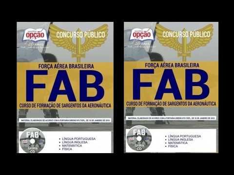 Apostilas Digitais Para Concursos Editais Abertos Concurso Fab