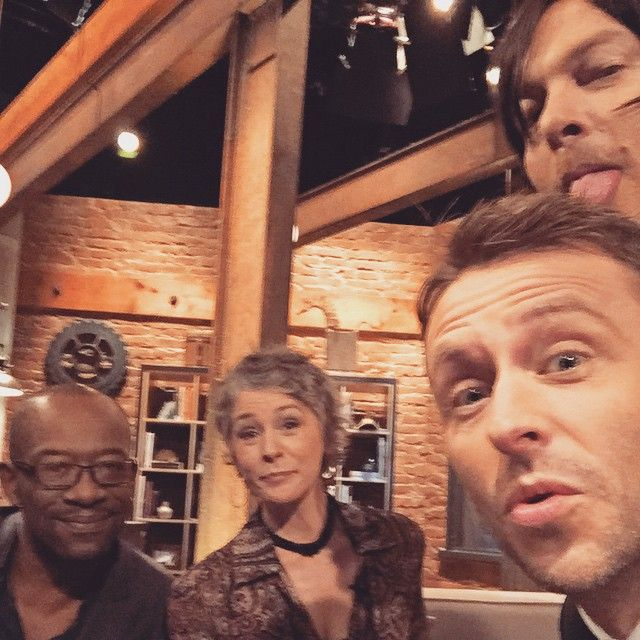 Commercial break on Talking Dead last night. 7.5 million of you watched so THANK YOU for spending your Sunday nights with me! See you in the Fall!!! #CatBath (at Talking Dead Wonder Loft)