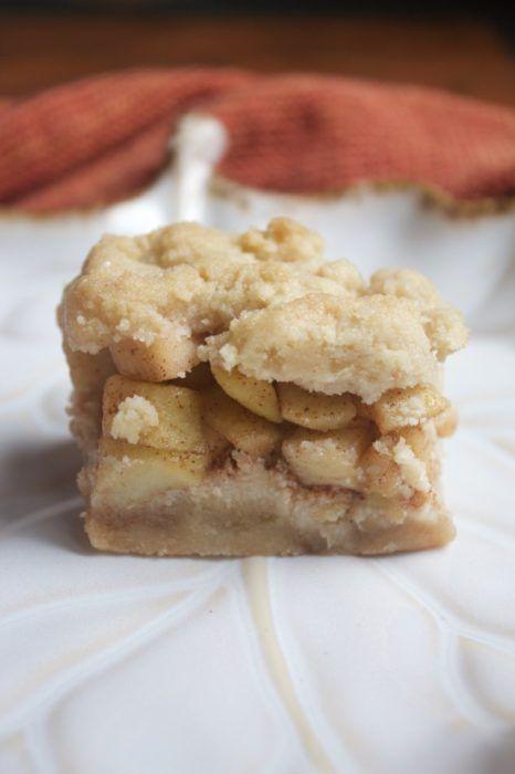 Apple Pie Bars (Gluten-Free & Vegan)