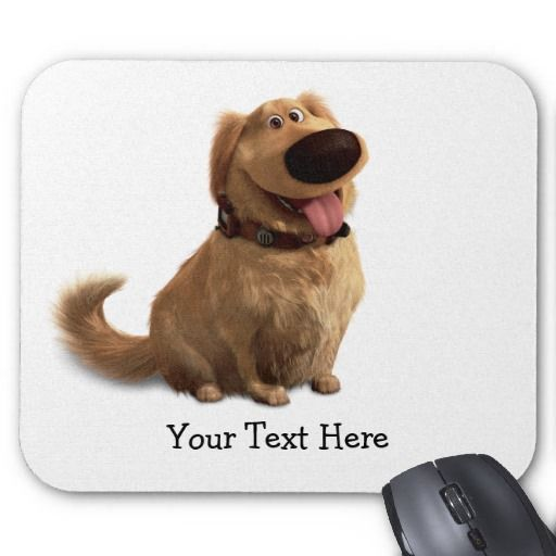Dug the Dog from Disney Pixar UP - smiling Mousepad by disney