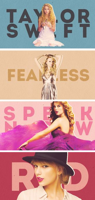 Every album is an age or an era of time which will forever remain timeless like I still find myself listening to songs in the era of Fearless and the age of Speak now