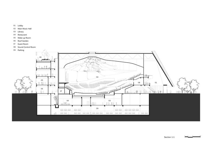 Gallery of MAD Architects Unveils Design for Translucent China Philharmonic Hall in Beijing - 22