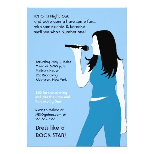 346 best Karaoke Birthday party Invitations images – Birthday Cards That Sing