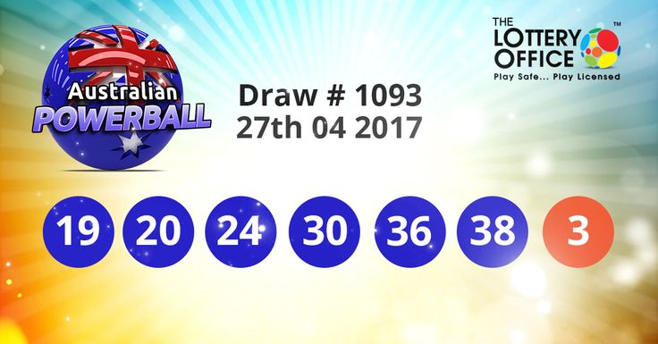 Australian Powerball winning numbers results are here. Next Jackpot: $30 million #lotto #lottery #loteria #LotteryResults #LotteryOffice
