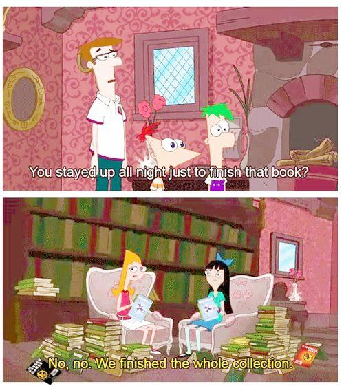 Phineas and Ferb meets The Hunger Games