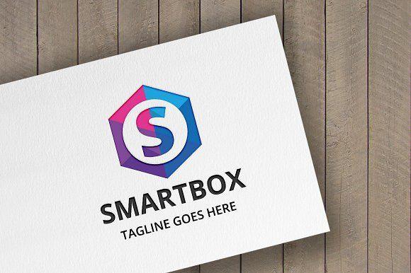 Smartbox Letter S Logo by tkent on @creativemarket