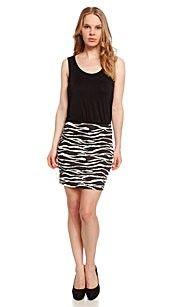 Clockhouse Jurk zwart/wit 100% Viscose #zomercollectie #zomerkledingdames #zomerkleding
