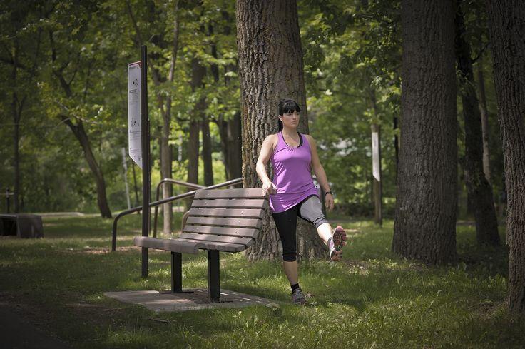 TREKFIT - outdoor fitness equipment  BENCHFIT