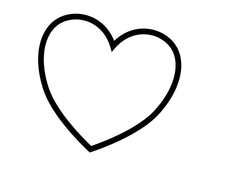 Heart Colouring Pages Page Coloring
