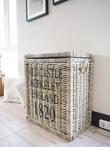 ber ideen zu w schekorb rattan auf pinterest vintage gardinen w schesammler und walk. Black Bedroom Furniture Sets. Home Design Ideas