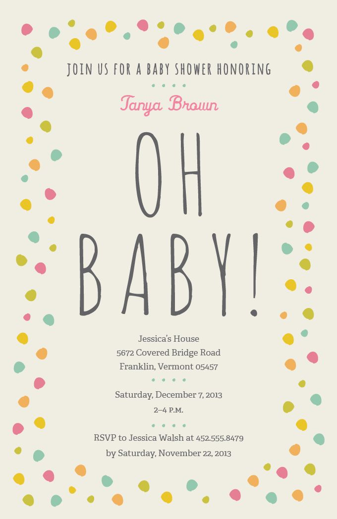 13 best Baby Shower Invitations and Birth Announcements