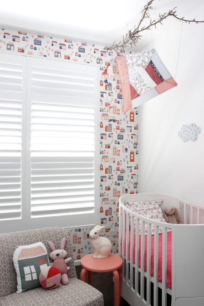 HappyModern.RU | Выбираем обои для детской комнаты девочки: 85  фото избранных идей и основные рекомендации | http://happymodern.ru