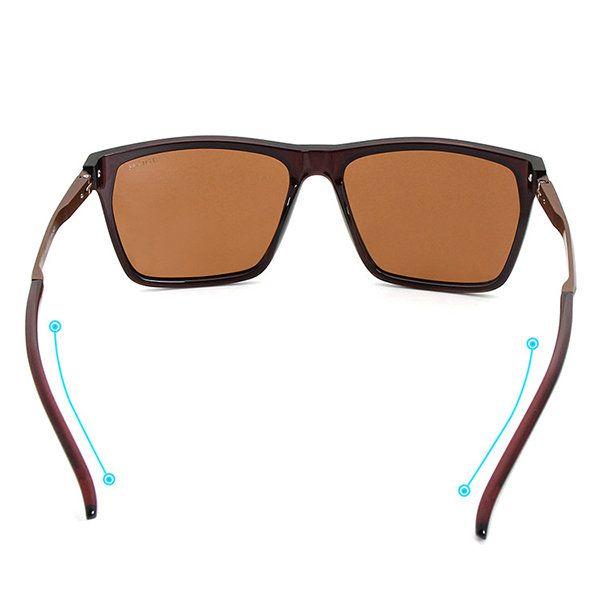 Men HD Polarized UV400 Outdoor Protection  Anti-UV Travel Driving Sports Lightweight Sunglasses