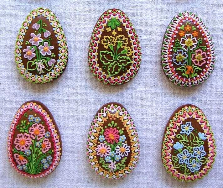 Gedecoreerde paaseieren uit Tjechie...
