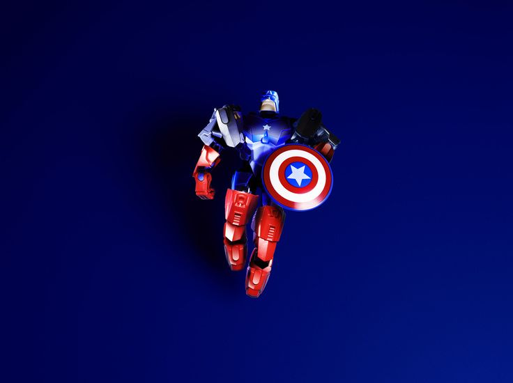 Sebastian Komicz's Portfolio - #products #pachshot #photography #toy #captainamerica #marvel