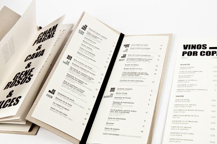 45 Remarkable Food & Drink Menu Designs