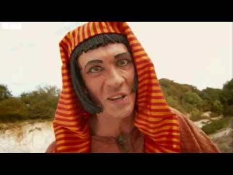 Horrible Histories -- egyptian science.  Follow the YouTube link and see 144 of these brief and clever comedy sketches, and get a quick history lesson in the bargain.