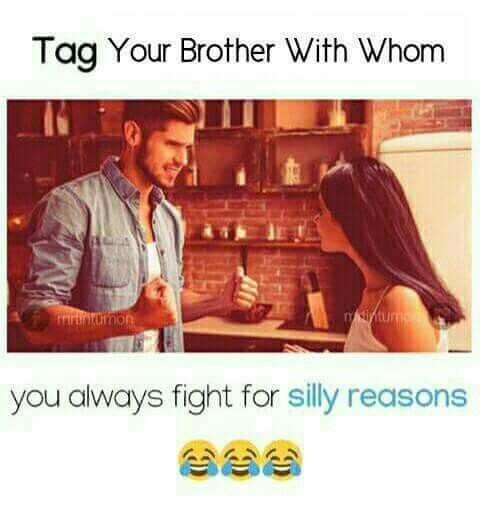 me & my brother | thoughts | Sister quotes funny, Sister