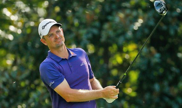PGA Tour: Justin Rose shrugs off injury to put himself in contention on day two in Atlanta