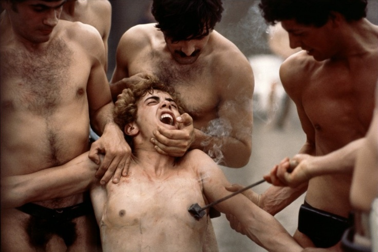 Esculpiendo el tiempo: Saló o los 120 días de Sodoma (Salò o le 120 giornate di Sodoma, 1975) de Pier Paolo Pasolini.