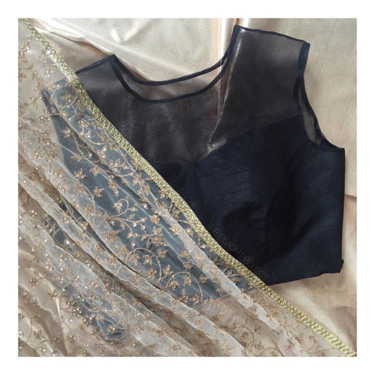 The Black Sheer Sleeveless Blouse X The Gold Phooldaar Dupatta Shop the blouse on our website. Link in bio. To customise email: ayesha@thepeachproject.in #blackbeauty #winteriscoming #diwalicollection #ootd #engagementphotoshoot #mehendibride #sangeet #desibride #nikaah #engagementbride #vintage #lehenga #lengha #desifashion #vintagechic #bridalparty #desibridesmaids101 #croptop #sariblouse #sexyblouse #desiwedding #southasianbride #festivewear #custommade #fall2016 #bridaltrousseau