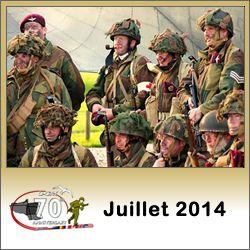 Programme des commémorations du débarquement de Normandie en juillet 2014