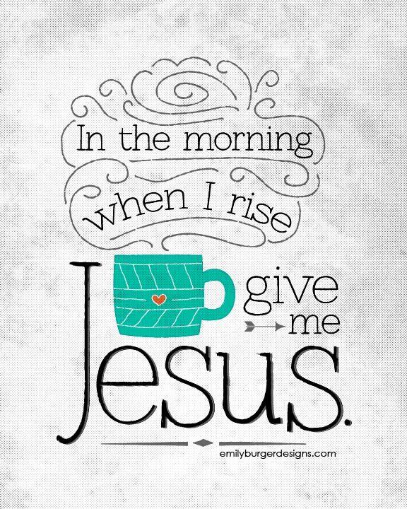 Give me Jesus 8 by 10 print. - emilyburgerdesigns.com