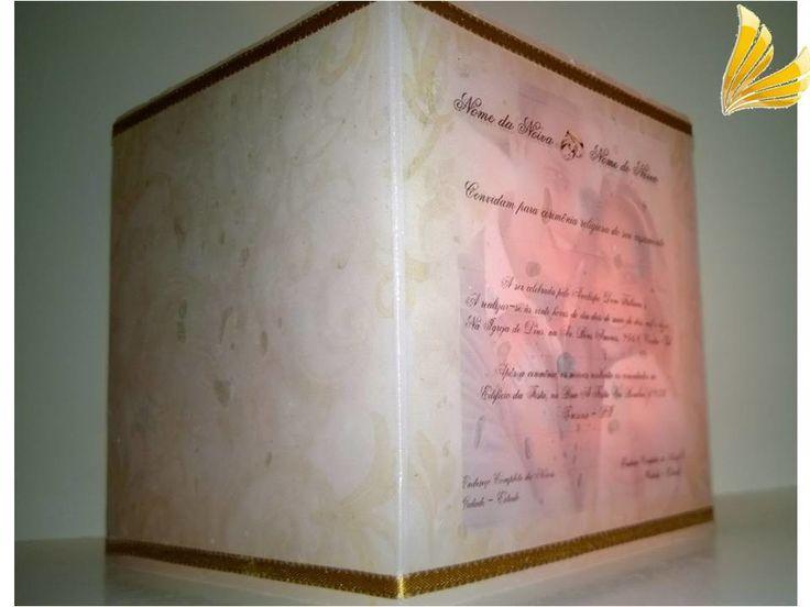 Convite Vela Luminária