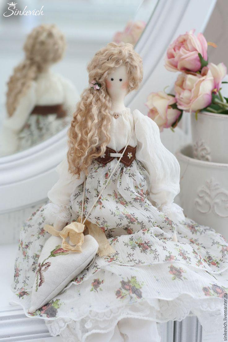 Купить Летиция - тильда, кукла, кукла текстильная, кукла интерьерная, для декора, Декор, tilda, home