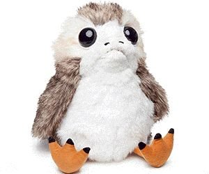 $24.99 Fall In Love With This Life-Sized Interactive Action Porg Plush