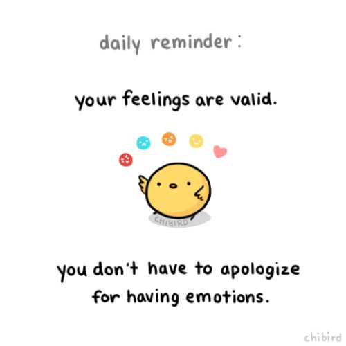 I'm an emotional person, and I don't think it's a bad thing as long as it's not detrimental to others. ^^ Learning how to express your feelings is really important.