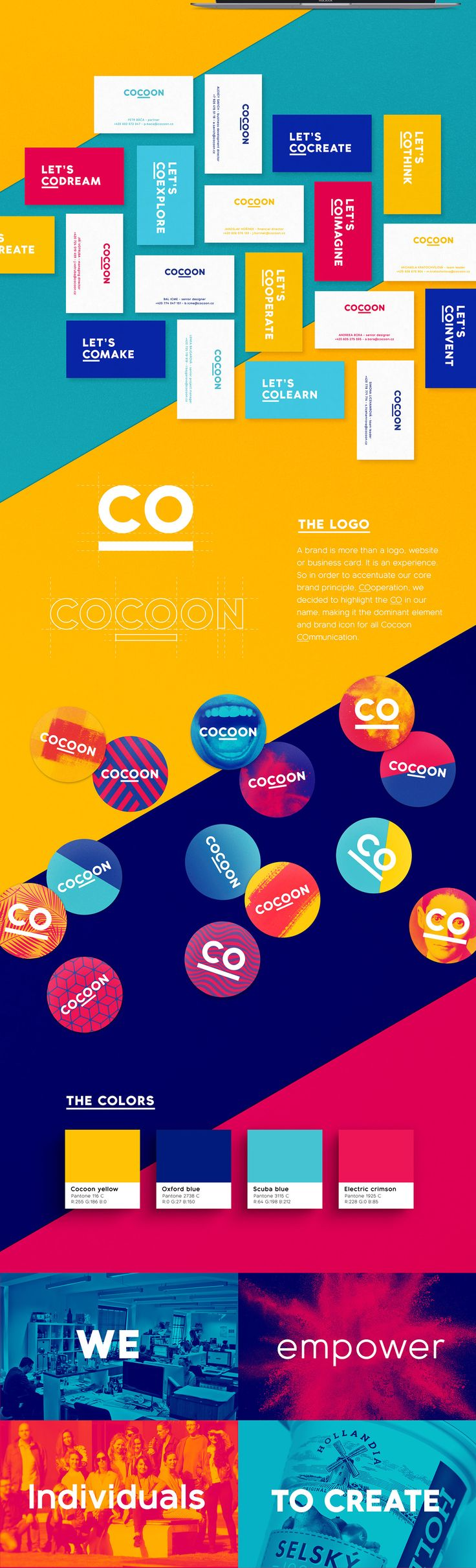 Cocoon Visual Identity on Behance