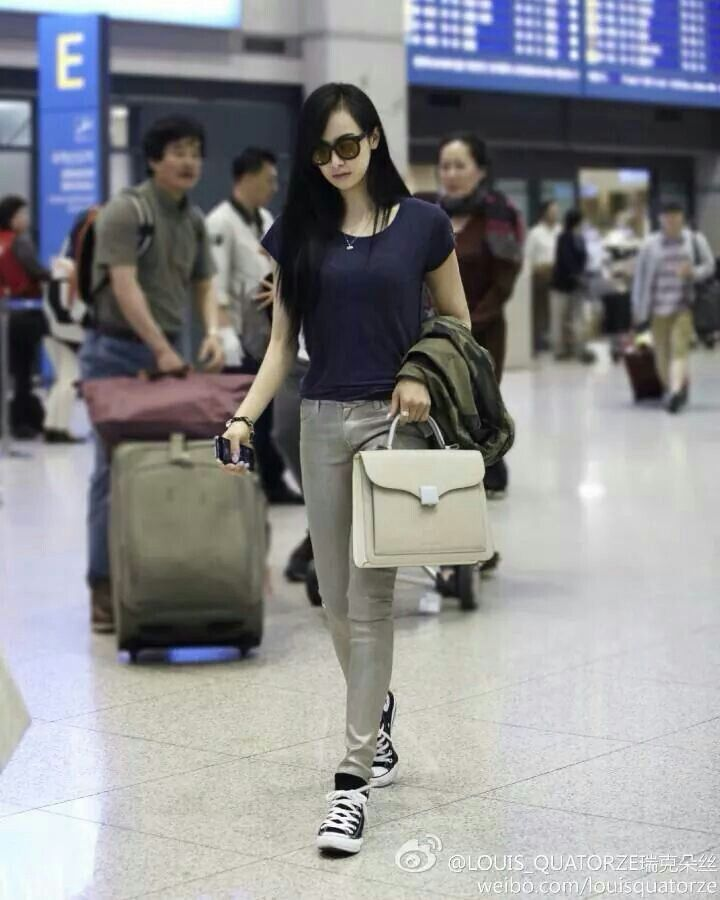 Victoria Fx Kpop Airport Fashion Style I Like