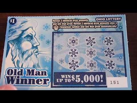 OLD MAN WINNER Scratch Off Ticket Ohio Lottery - (More info on: https://1-W-W.COM/lottery/old-man-winner-scratch-off-ticket-ohio-lottery-2/)