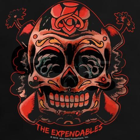 The Expendables Skull TNT T-Shirt | Skulls, The ...